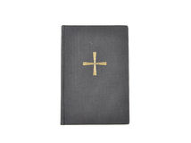 Prayer book on white. Colorful and crisp image of prayer book on white Stock Photography