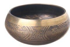 Prayer bowl Stock Photography