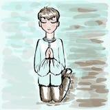 Prayer. Stock Photo