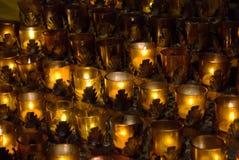Prayer candles Royalty Free Stock Image
