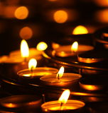 Prayer Candles Stock Photography