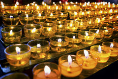 Prayer Candles Stock Image