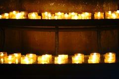 Prayer candles Royalty Free Stock Photo