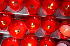 Prayer candles Royalty Free Stock Photo