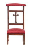Prayer chair Stock Photo