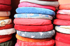 Prayer Cushions Stock Photo