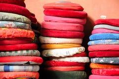 Prayer Cushions Royalty Free Stock Photo