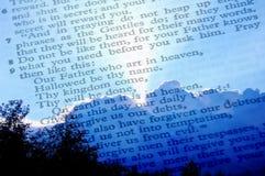 Prayer du seigneur photo libre de droits