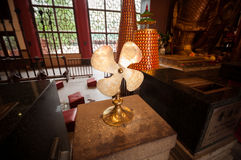 Prayer fan in Che Kung Temple. Royalty Free Stock Photography