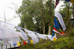 Prayer flag Royalty Free Stock Images