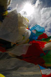 Prayer Flags. At Everest Base Camp 1 Royalty Free Stock Images