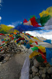 Prayer Flags. At Everest Base Camp 1 Stock Image