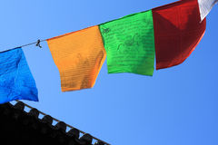 Prayer flags Stock Photos