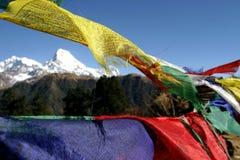 Prayer flags. Himalaya Stock Photography