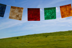 Prayer flags. Tibetan prayer flags Stock Image