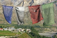 Prayer Flags Royalty Free Stock Photos
