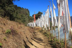 Prayer Flags. Royalty Free Stock Image