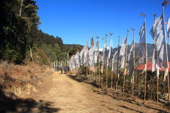 Prayer Flags. Royalty Free Stock Photos