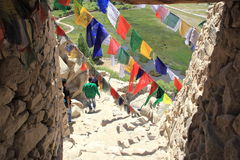 Prayer Flags. Royalty Free Stock Photo