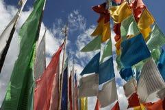 Prayer flags Stock Photography