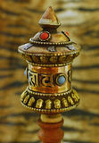 Prayer grinder Stock Image