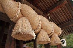 Prayer hall of Izumo Taisha Shrine Royalty Free Stock Photography