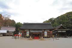 Prayer hall of Kamigamo shrine in Kyoto Stock Images