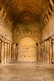 Prayer Hall at Kanheri Caves Stock Photography