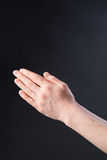 Prayer - Hands Together Stock Photos