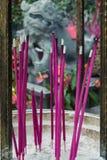 Prayer Incense Royalty Free Stock Photos