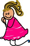 Prayer kid Royalty Free Stock Image