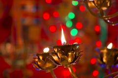 Prayer lamp Royalty Free Stock Image