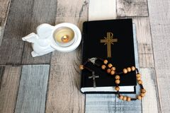 Prayer and meditation Stock Image