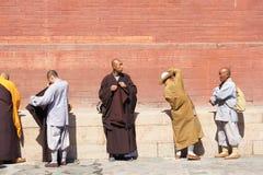 The prayer meeting Stock Photos