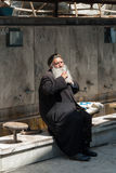 Prayer in the mosque Stock Photos