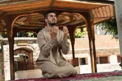 Prayer At Mosque Royalty Free Stock Images
