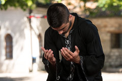 Prayer At Mosque Stock Photography