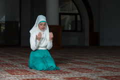 Prayer At Mosque Stock Image
