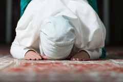 Prayer At Mosque Royalty Free Stock Photo
