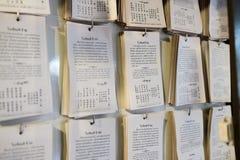 Prayer Notes Stock Photos