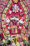Prayer Offerings at Pura Penataran Agung, Bali Royalty Free Stock Image