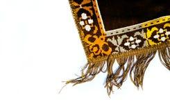 Prayer rug sajadah isolated background
