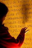 Prayer in Sacre Cer. stock photography