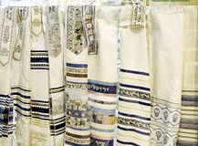Prayer Shawls Stock Images
