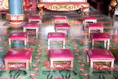 Prayer Stools Stock Image