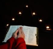 Prayer time Stock Photo
