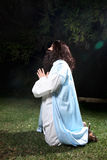 Prayer in times of trouble Royalty Free Stock Photos