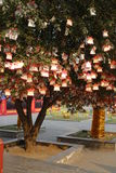 Prayer tree at Guan Yu Temple Stock Images