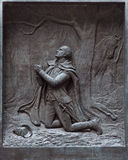 The prayer at Valley Forge Stock Images
