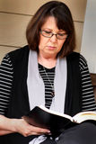 Reading Bible royalty free stock photos